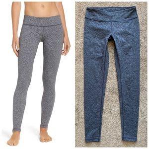 Zella Dark Grey Heathered Exercise Yoga Leggings S